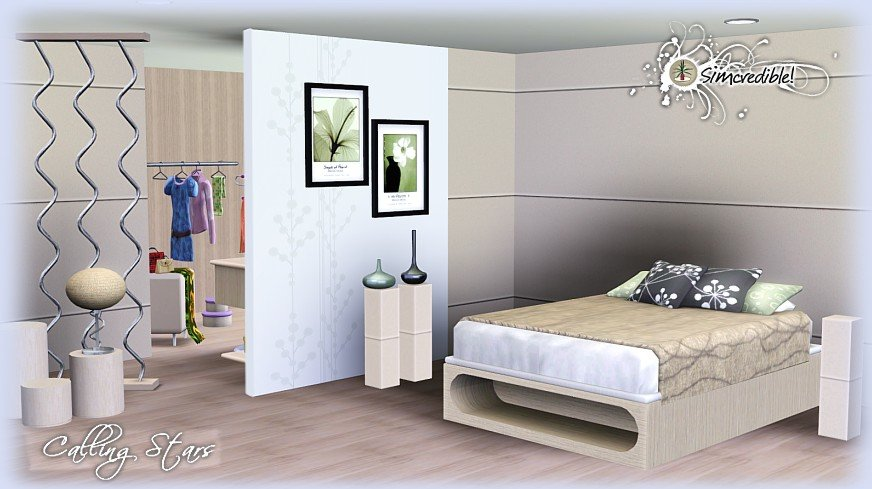 Best My Sims 3 Blog Calling Stars Bedroom Set By Simcredible Designs With Pictures
