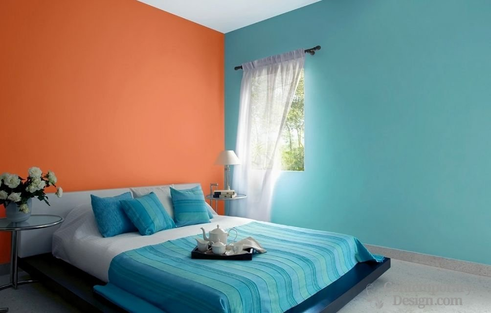 Best Two Colour Combination For Bedroom Walls With Pictures