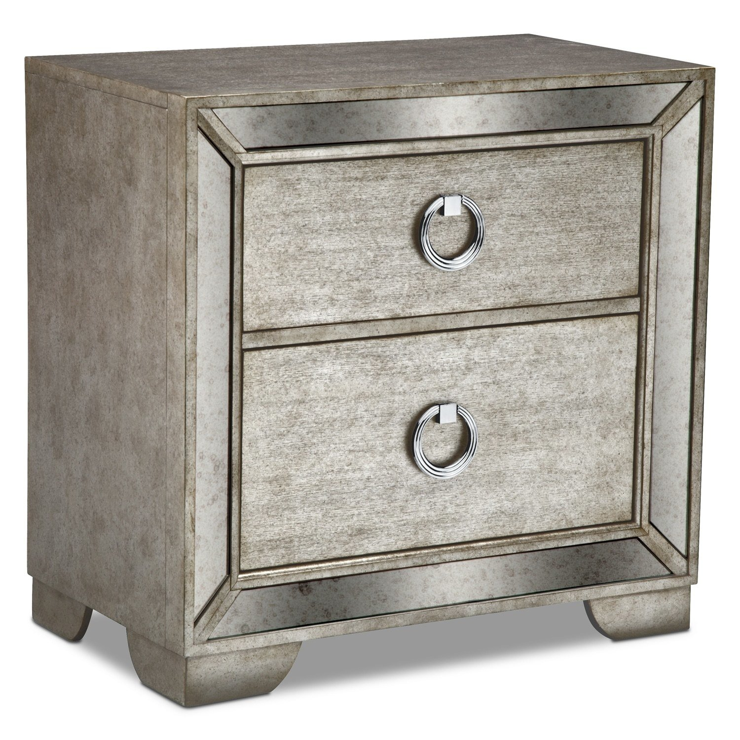 Best Angelina Nightstand Value City Furniture With Pictures