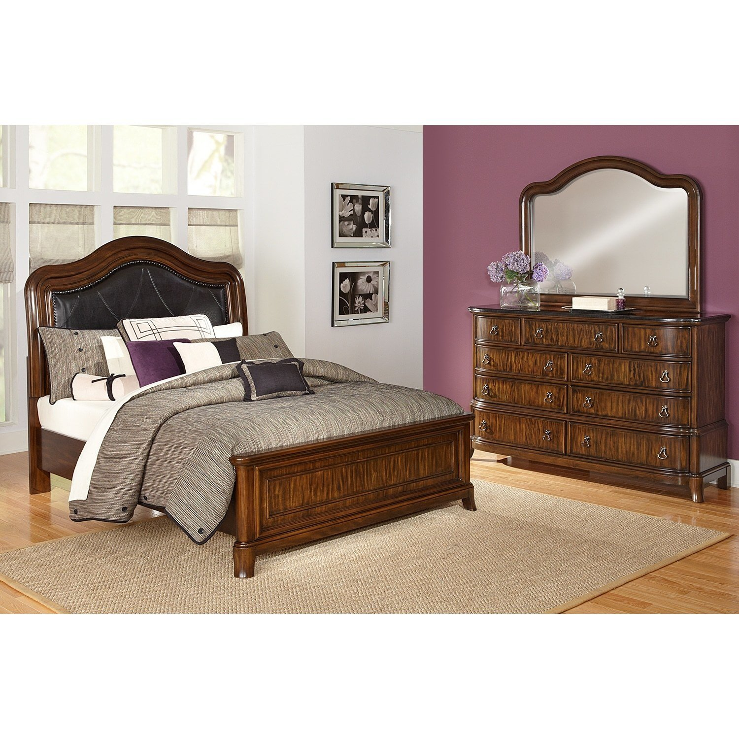Best Kingston Bedroom 5 Pc King Bedroom Value City Furniture With Pictures