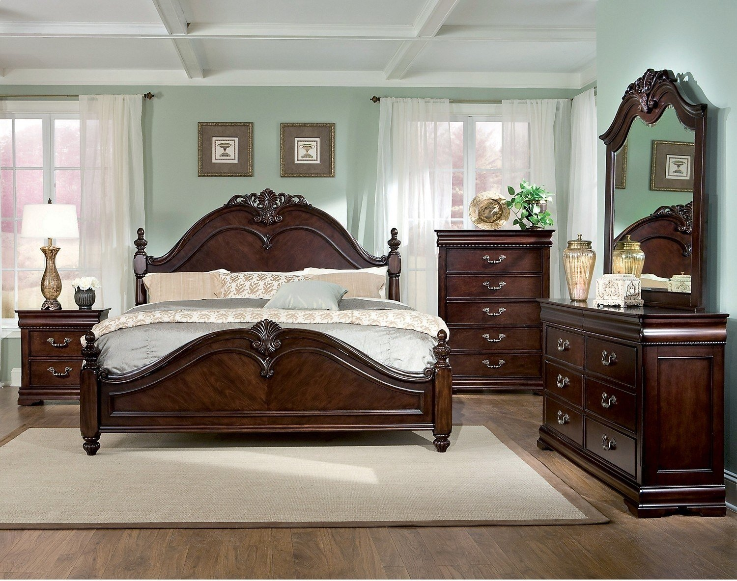 Best Westchester 7 Piece King Bedroom Set The Brick With Pictures
