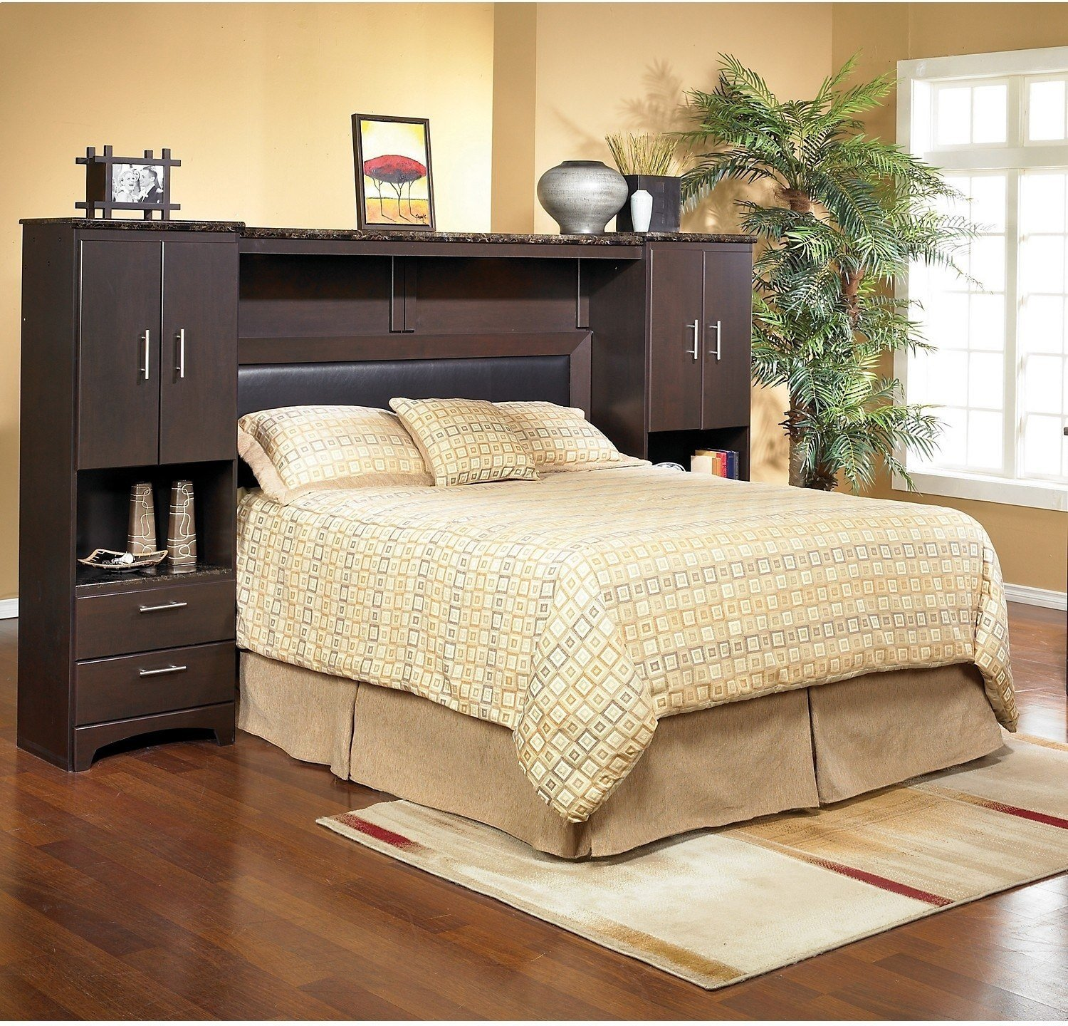 Best Oxford Queen Wall Bed With Piers The Brick With Pictures
