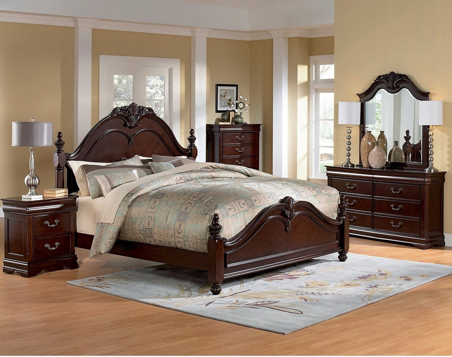Best Westchester 8 Piece King Bedroom Set The Brick With Pictures