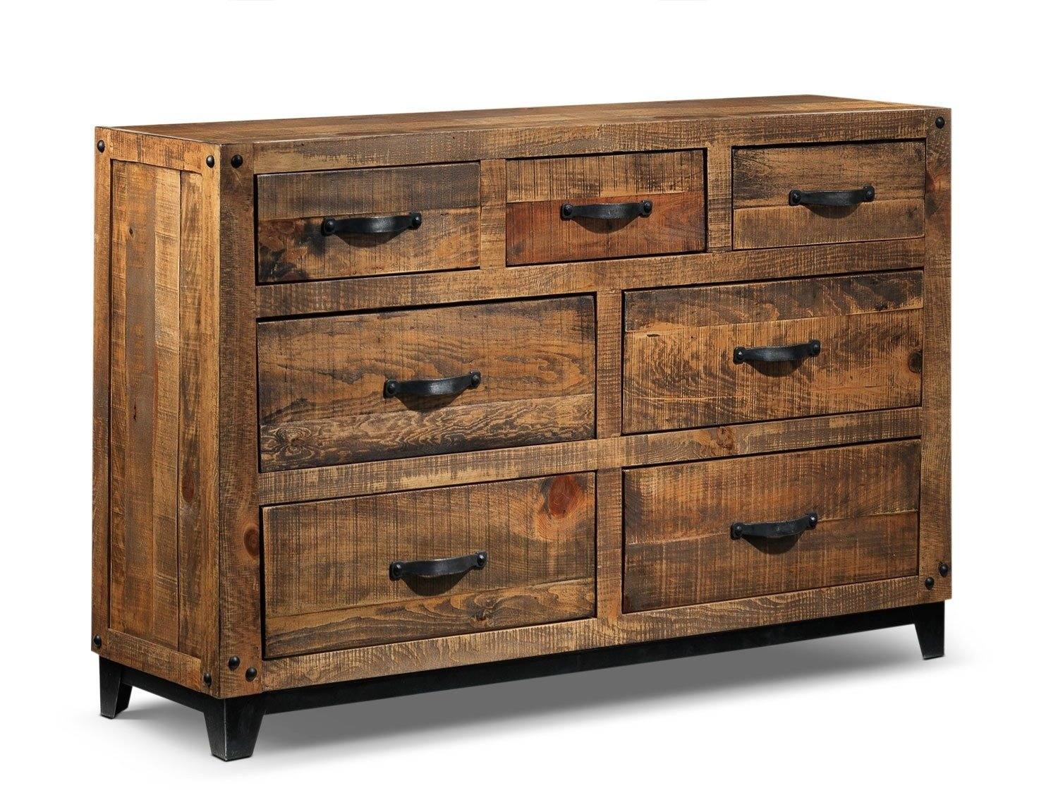 Best Maya Dresser Rustic Pine Leon S With Pictures