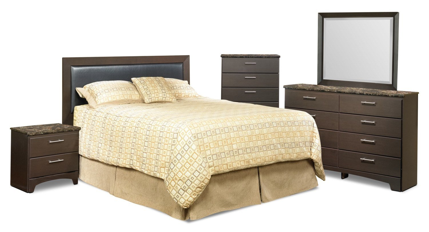 Best Oxford 5 Piece Queen Bedroom Package The Brick With Pictures