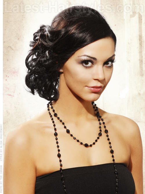 Free Prom Hairstyles For Medium Length Hair Pictures And How To S Wallpaper
