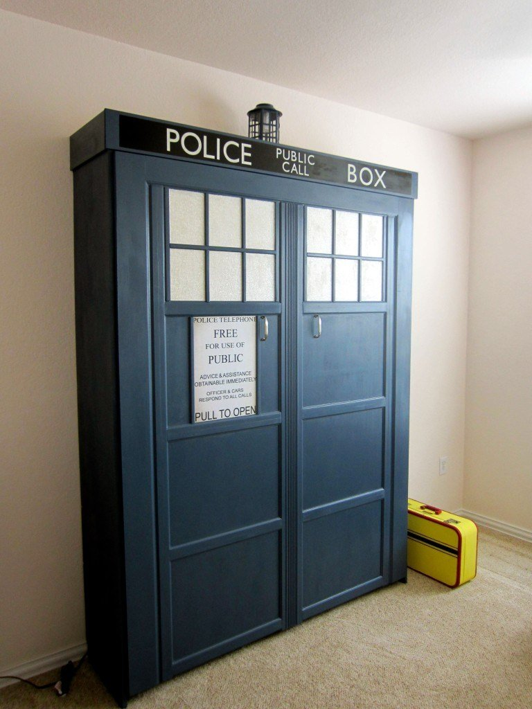 Best A Tardis Transformation Of A Spare Room With Pictures