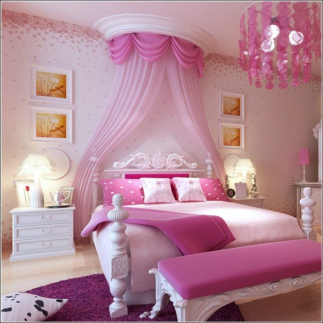 Best 15 Cool Ideas For Pink Girls Bedrooms Home Design Garden Architecture Blog Magazine With Pictures