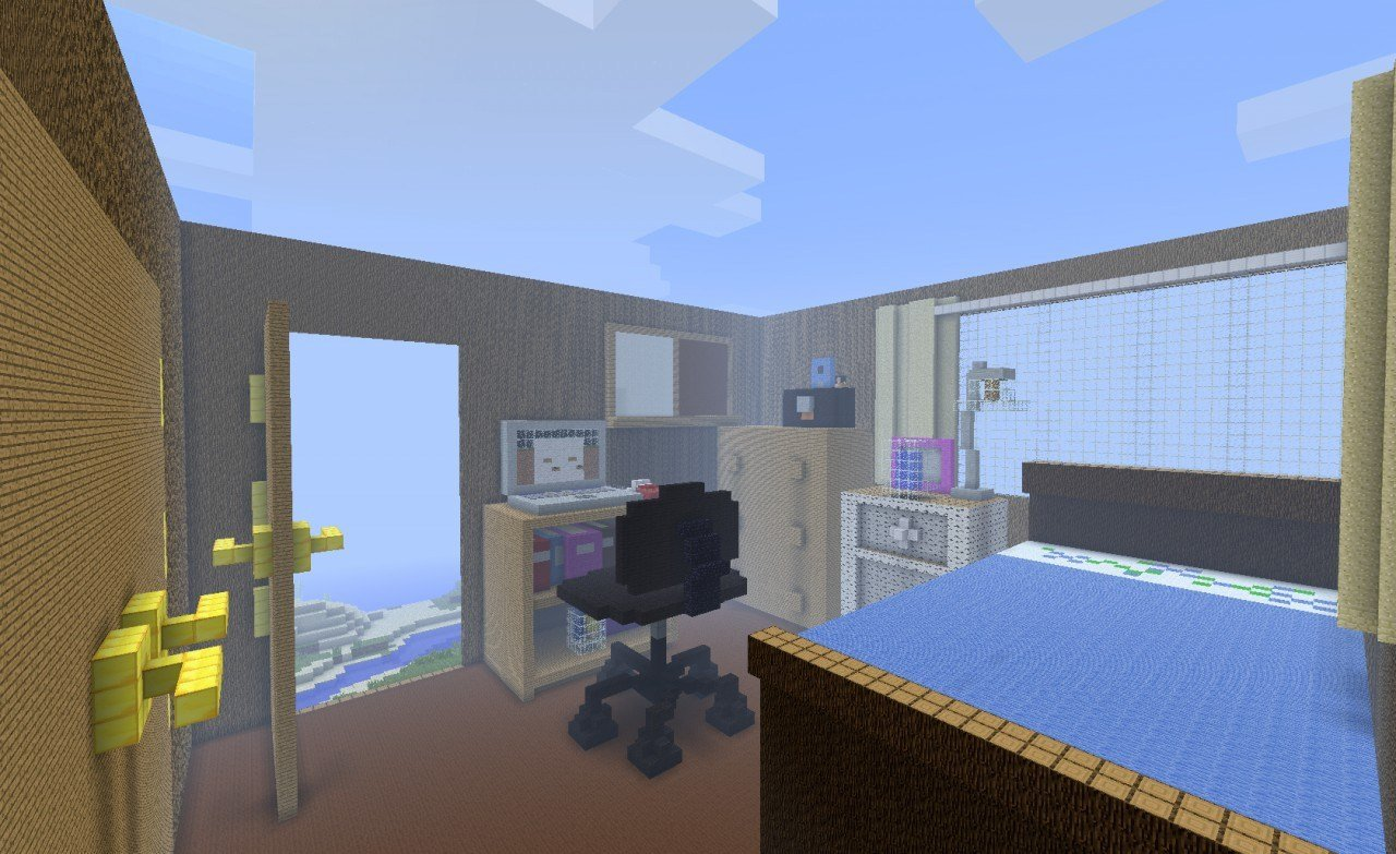 Best My Bedroom In Minecraft Minecraft Project With Pictures