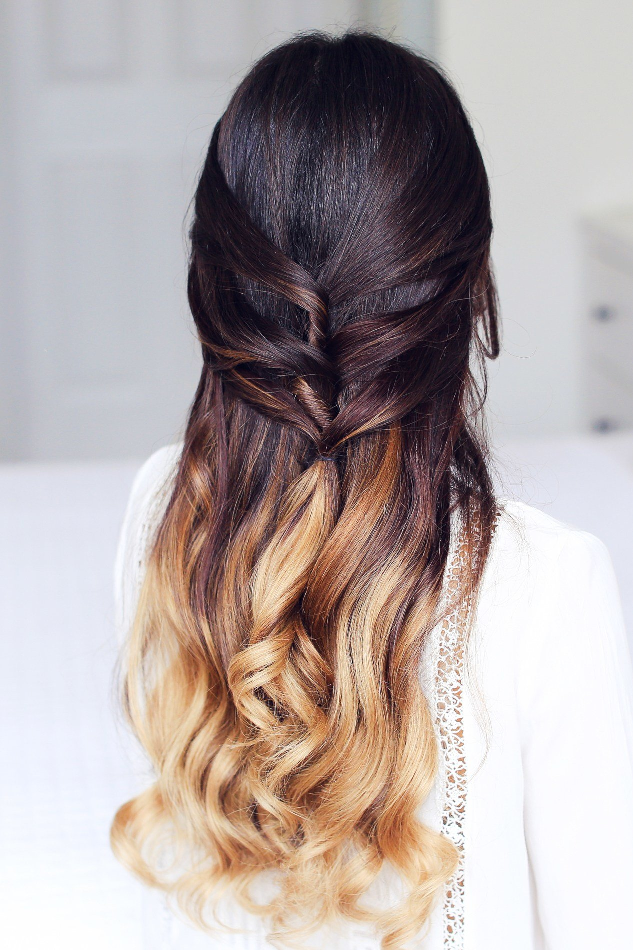 Free Cute Half Up Half Down Hairstyle – Luxy Hair Wallpaper
