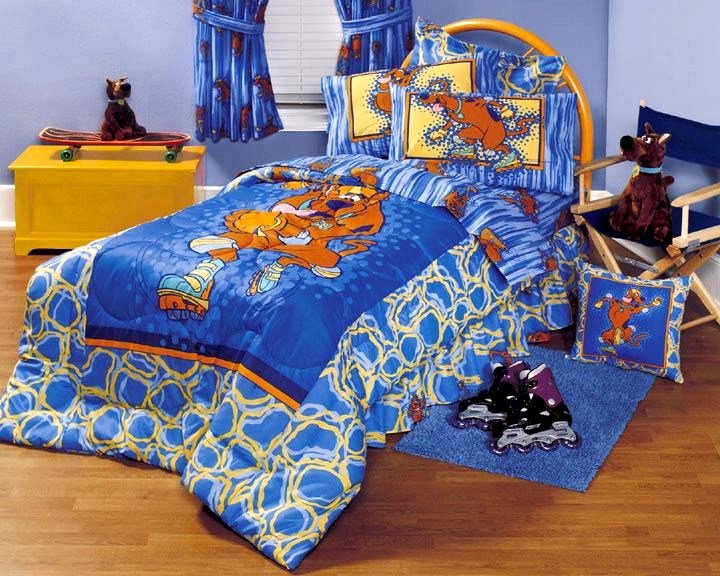 Best Scooby Doo Bedskirt Scooby Sports Legend Twin Size With Pictures