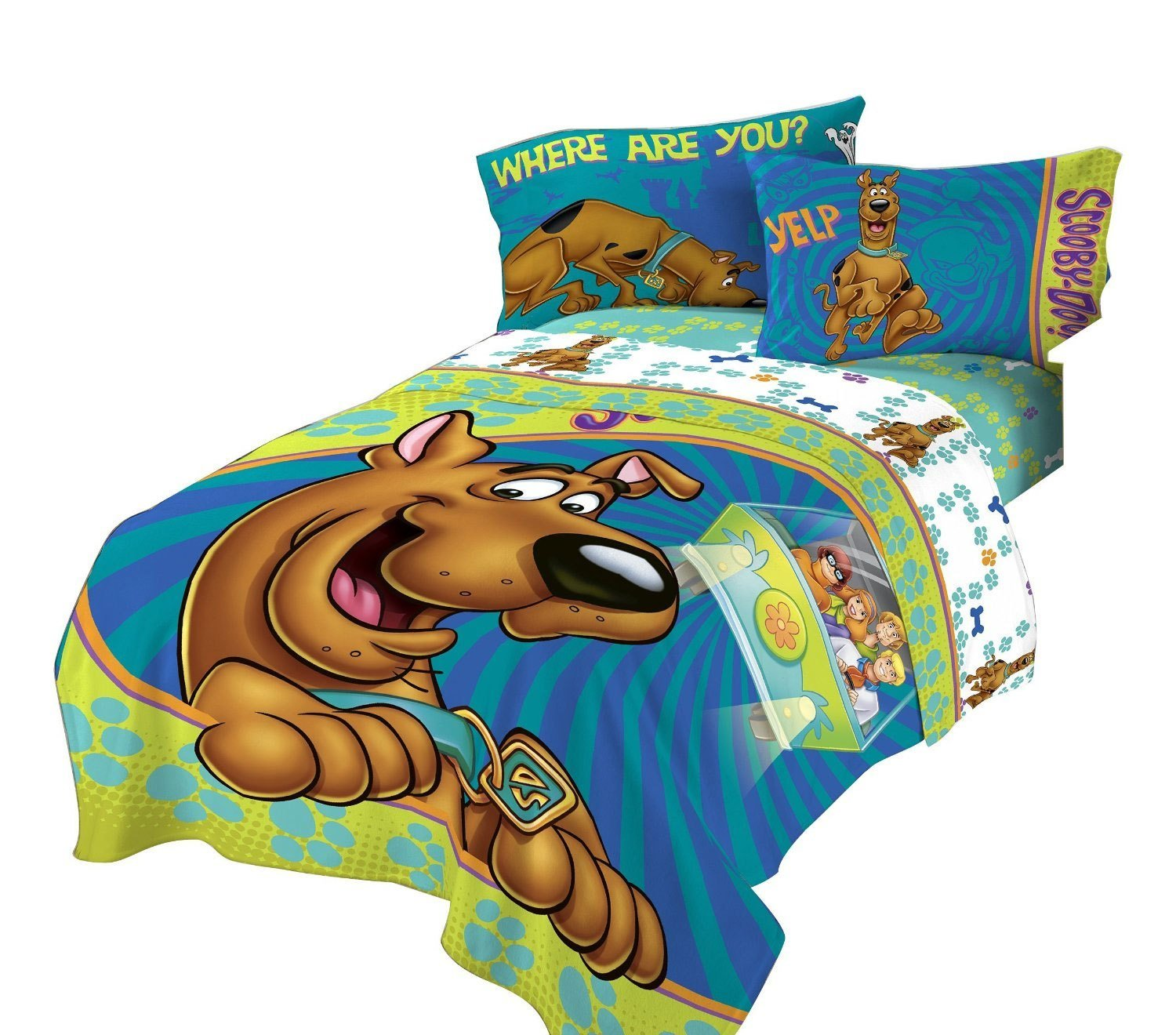 Best Scooby Doo Twin Bed Comforter Smiling Scooby Bedding With Pictures