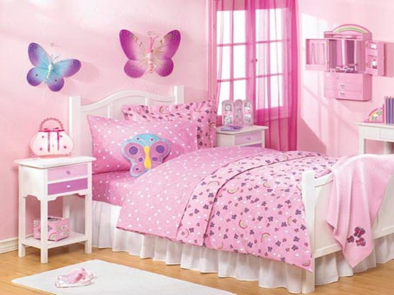 Best Pink Creative Butterfly Bedroom Ideas Stroovi With Pictures