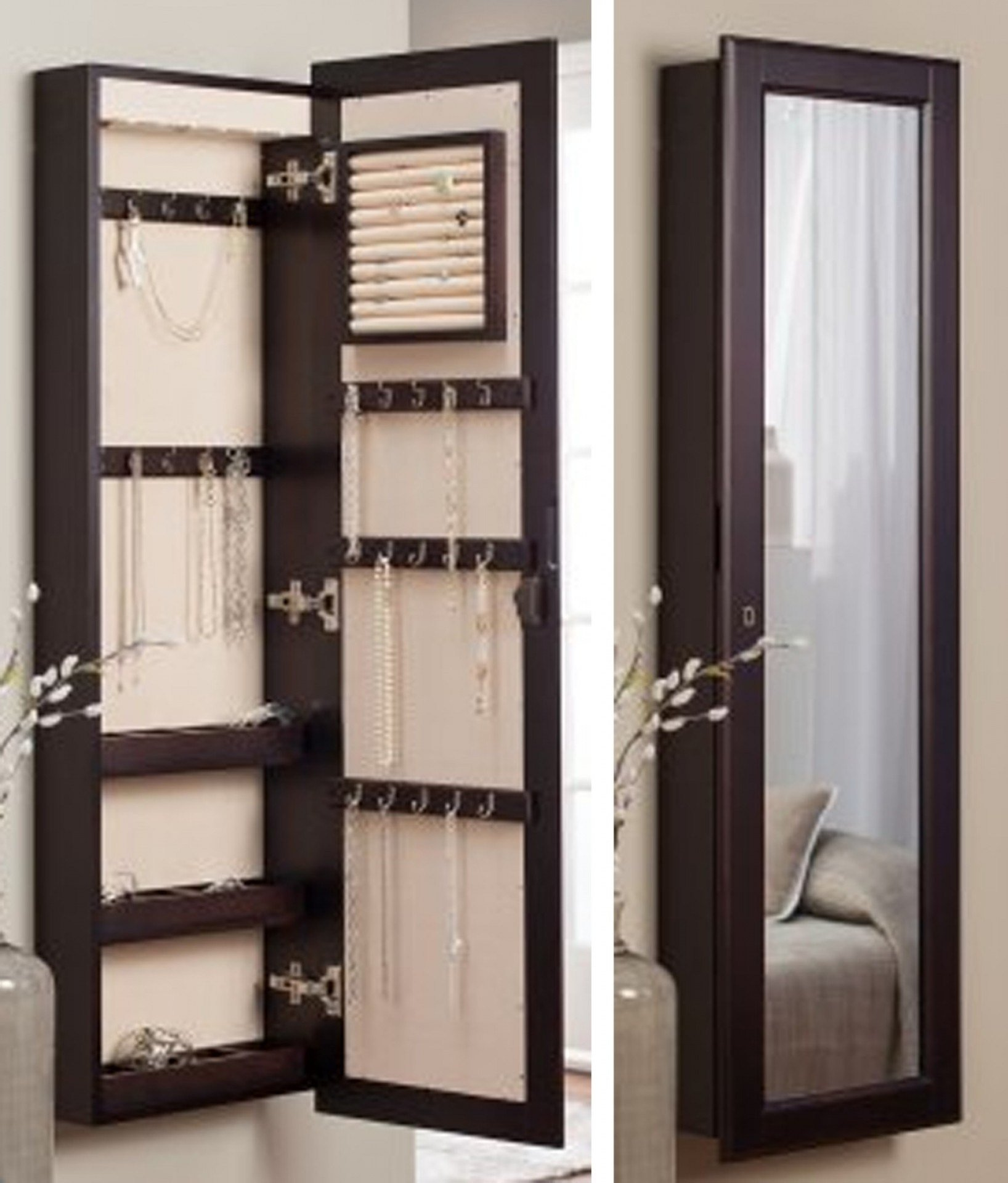Best Wall Jewelry Storage Ideas Caymancode With Pictures