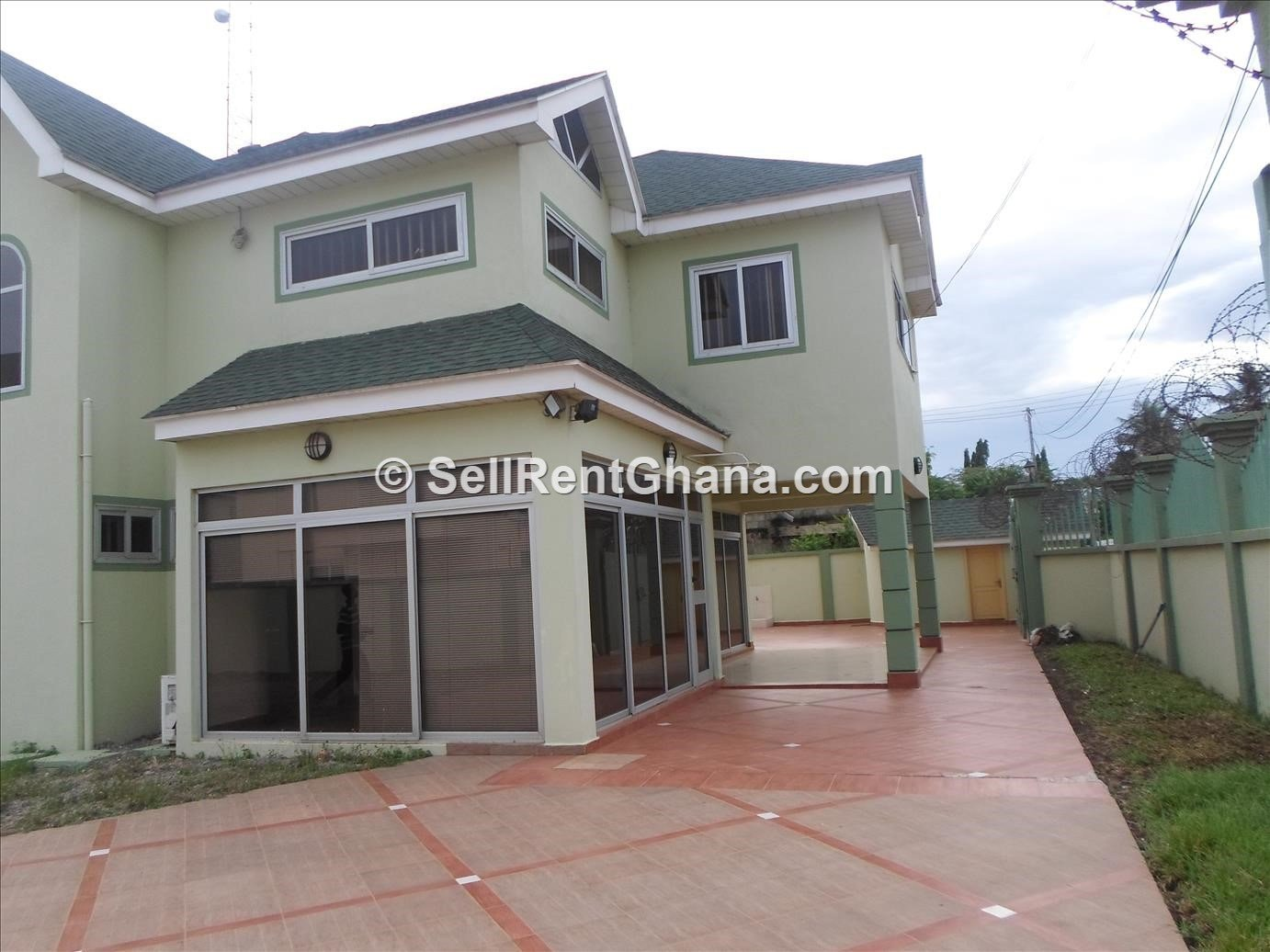 Best 4 Bedroom House To Let Airport Sellrent Ghana With Pictures