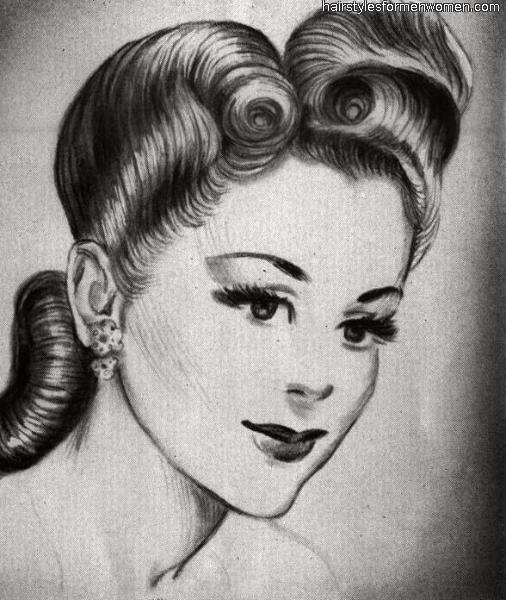 Free Emily S Vintage Visions Great Hair Fridays Victory Rolls Wallpaper