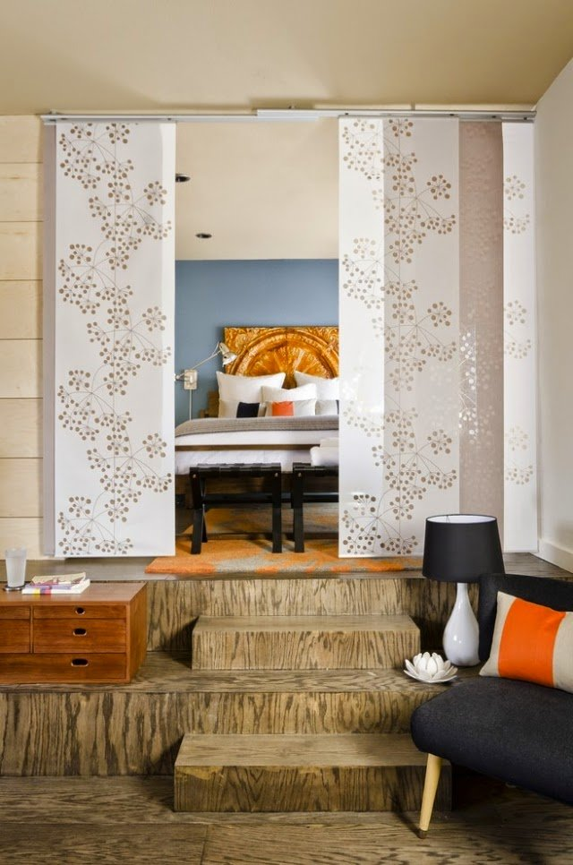 Best Room Dividers For Bedroom 26 Ideas For The Delimitation With Pictures