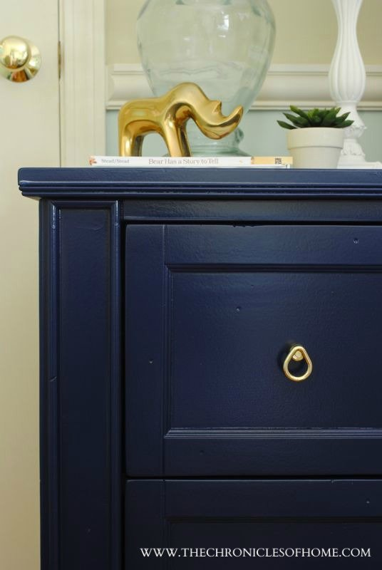 Best Navy Blue Nightstand With Pictures