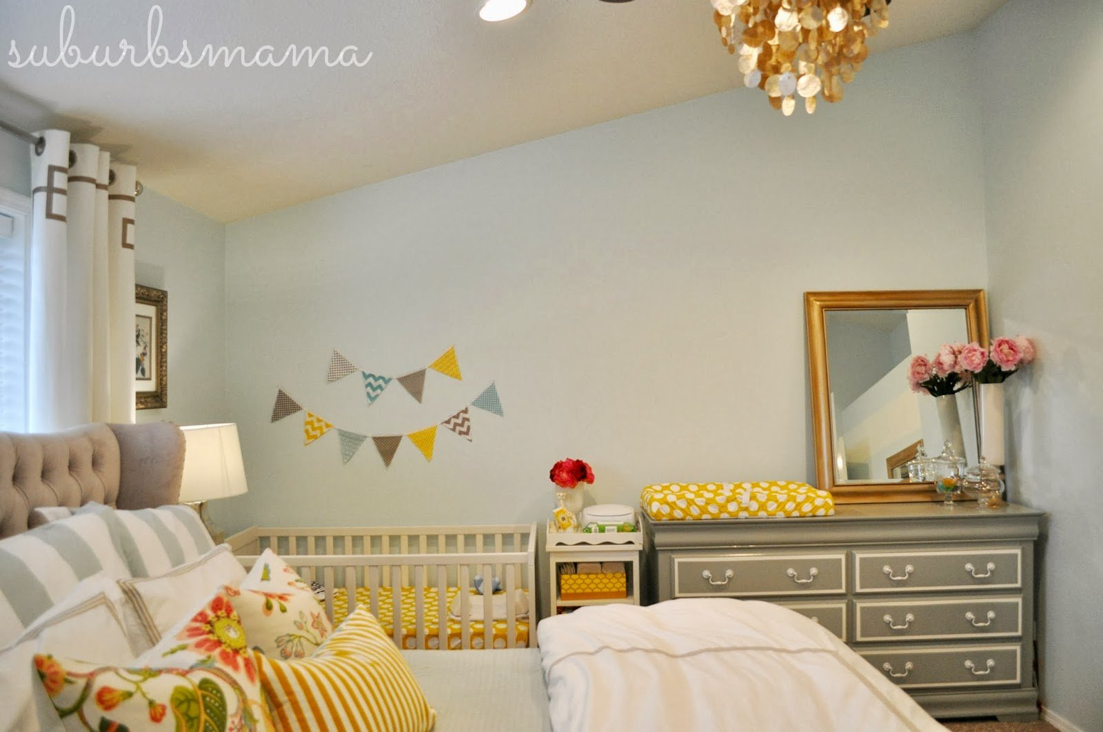 Best Suburbs Mama Nursery In Master Bedroom With Pictures