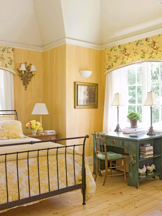 Best Modern Furniture 2011 Bedroom Decorating Ideas With Yellow Color With Pictures