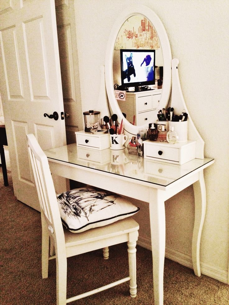 Best Completing Bedroom Sets With Vanity Table Ikea Trend With Pictures