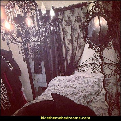 Best Decorating Theme Bedrooms Maries Manor Gothic Bedroom With Pictures