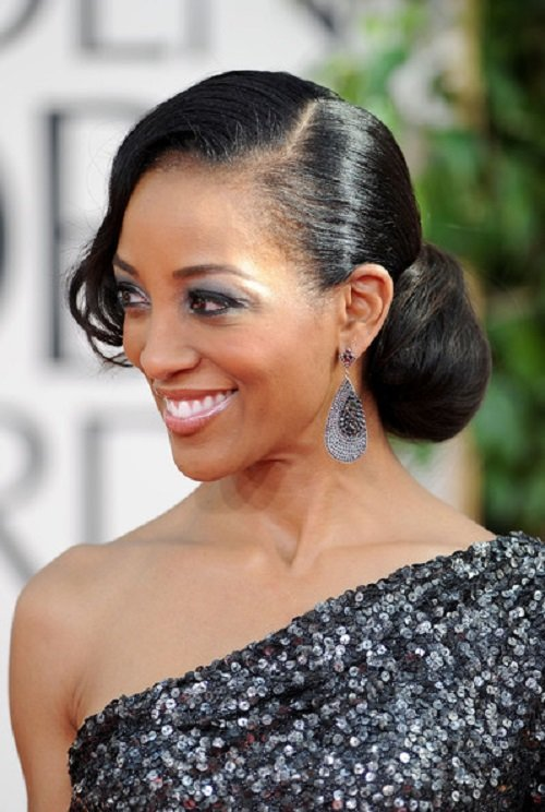 Free African American Hairstyles Trends And Ideas Side Bun Wallpaper