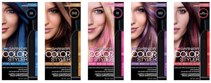 Free Get Some Crazy Colour With No Commitment From Garnier Wallpaper
