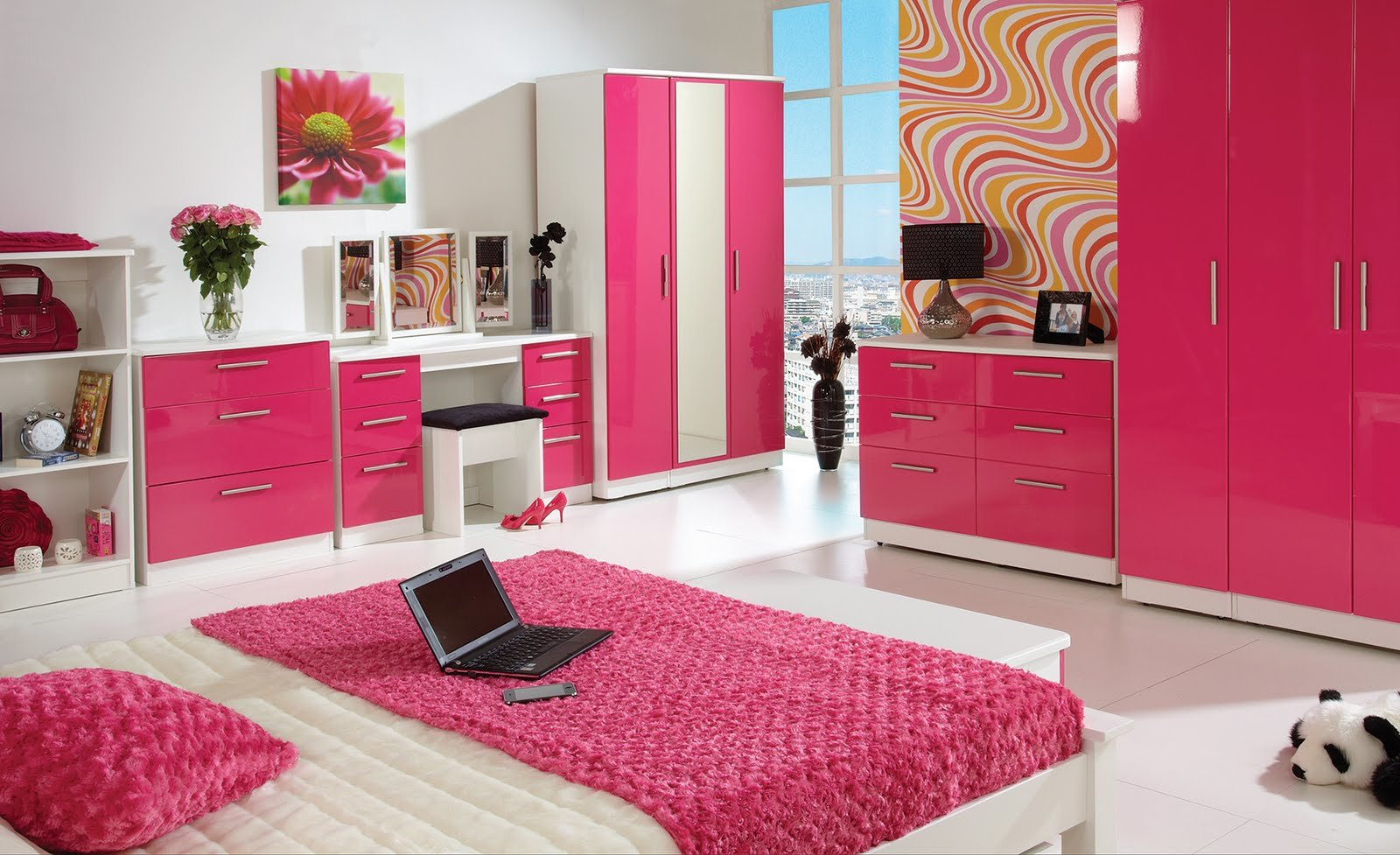 Best Home Furnishings From Furniture Store 247 Pink High Gloss With Pictures