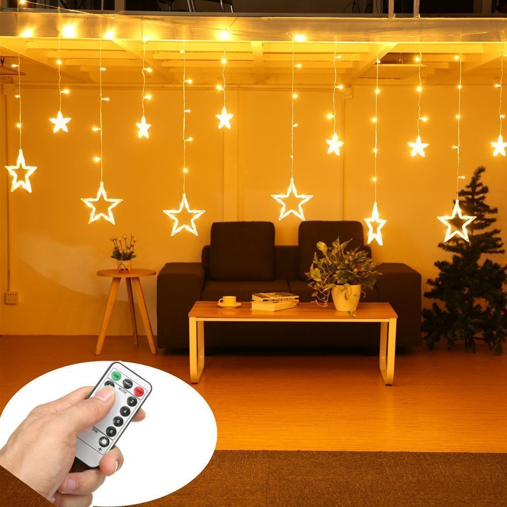 Best Top 8 Best Christmas Curtain Lights Reviews 2018 With Pictures