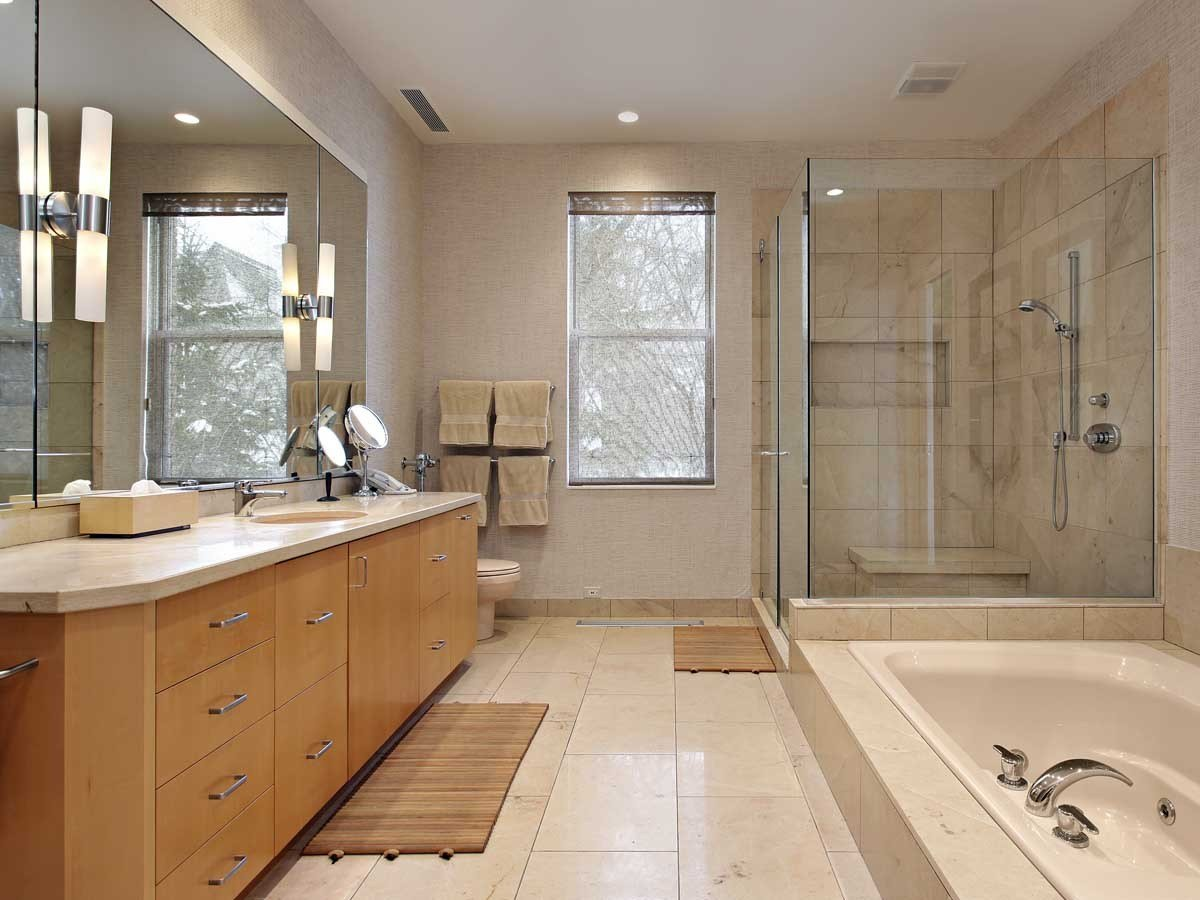Best Master Bathroom Remodel Project Template Homezada With Pictures