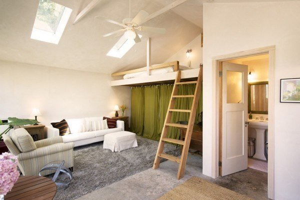Best Two Car Garage Converted Into Backyard Tiny Cottage With Pictures