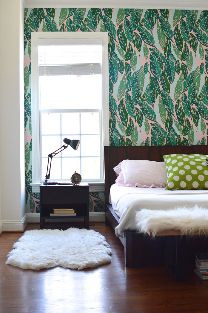 Best Design Addict Mom Master Bedroom Refresh With Justina Blakeney S Nana Wallpaper With Pictures