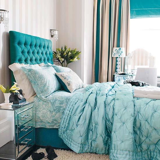 Best Bedroom Design Decor Bright Teal Blue Bedroom Teal With Pictures