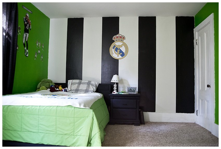 Best Rachelle Chase Blog My Boys Soccer Bedroom Before And After With Pictures