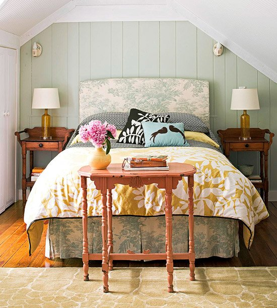 Best New Home Interior Design Cozy Cottage Style Bedrooms With Pictures