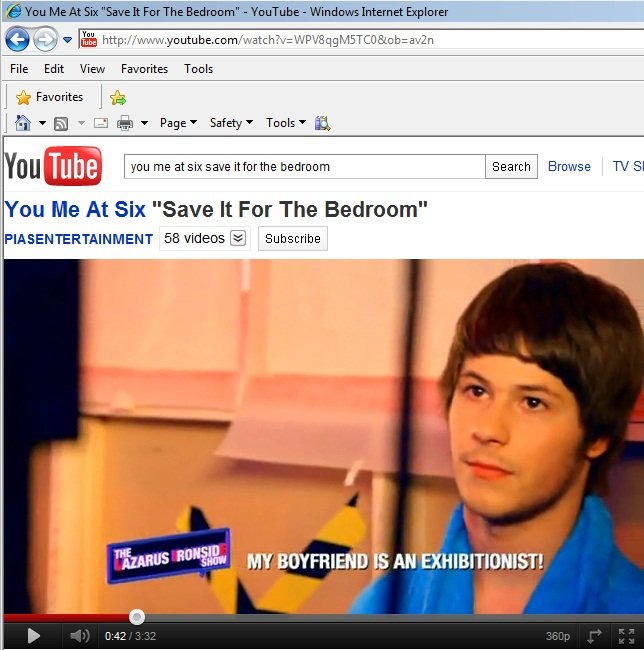 Best A2 Music Videos You Me At Six Save It For The Bedroom With Pictures