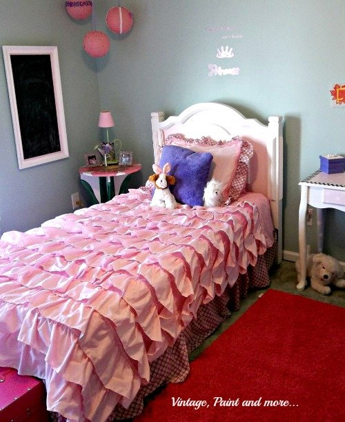 Best Girly Girl Bedroom Vintage Paint And More With Pictures