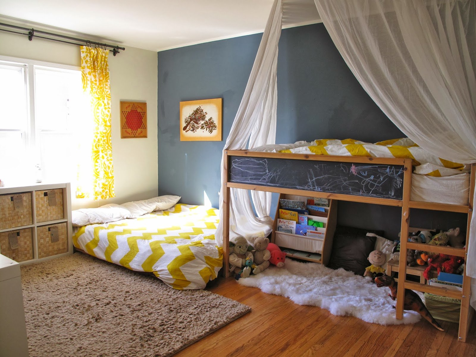 Best Two Bedrooms And A Baby Tt S Montessori Room Shared Boy With Pictures