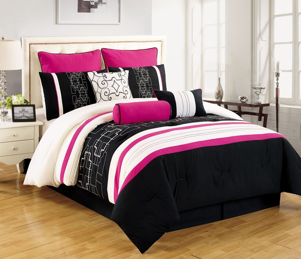 Best Pink Black And White Bedding Sets For Girls Tweens And Teens With Pictures
