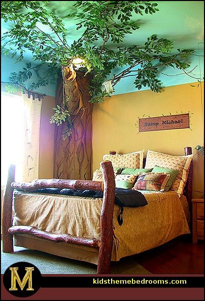 Best Decorating Theme Bedrooms Maries Manor Treehouse Theme With Pictures