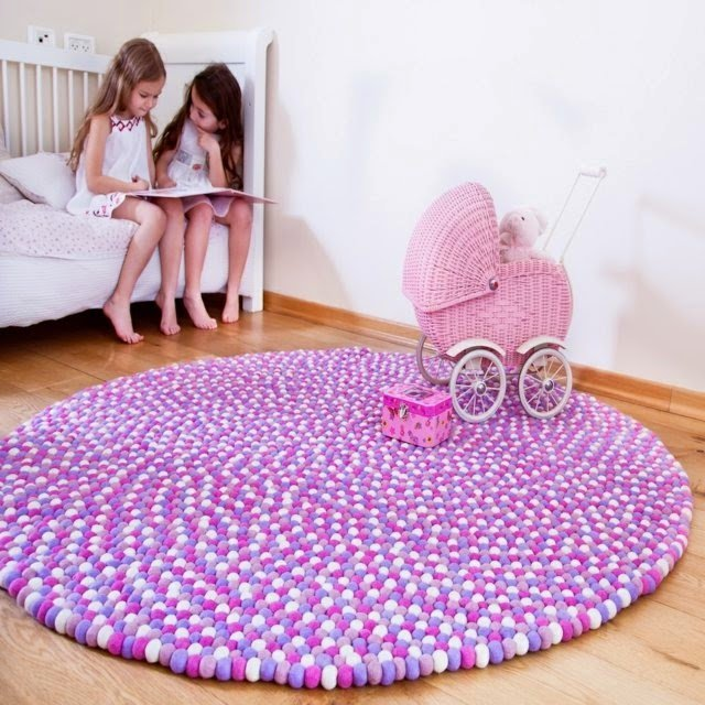 Best Handmade Round Rug Exclusive Note In The House Houzz Home With Pictures