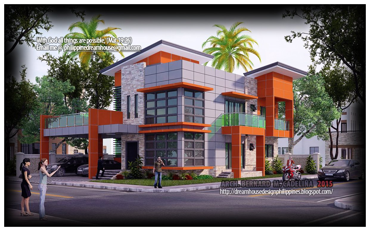 Best Philippine Dream House Design Four Bedroom Two Storey House With Pictures