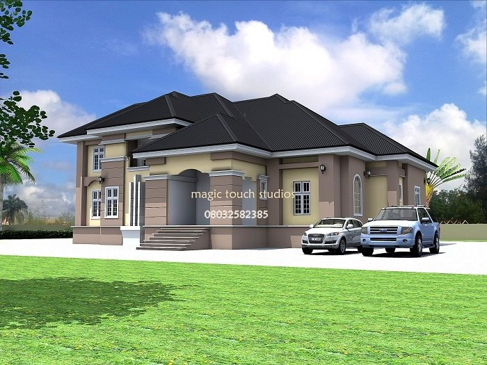 Best 5 Bedroom Split Level Bungalow Residential Homes And With Pictures