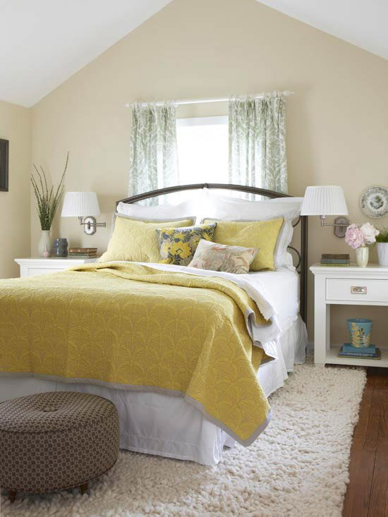 Best 2014 Bedroom Decorating Ideas With Yellow Color Modern Home Dsgn With Pictures