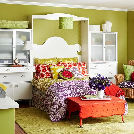 Best Ideas For Bedrooms Lime Green And Orange Bedroom With Pictures