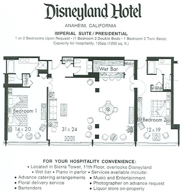Best The Original Disneyland Hotel Rare View Inside The With Pictures