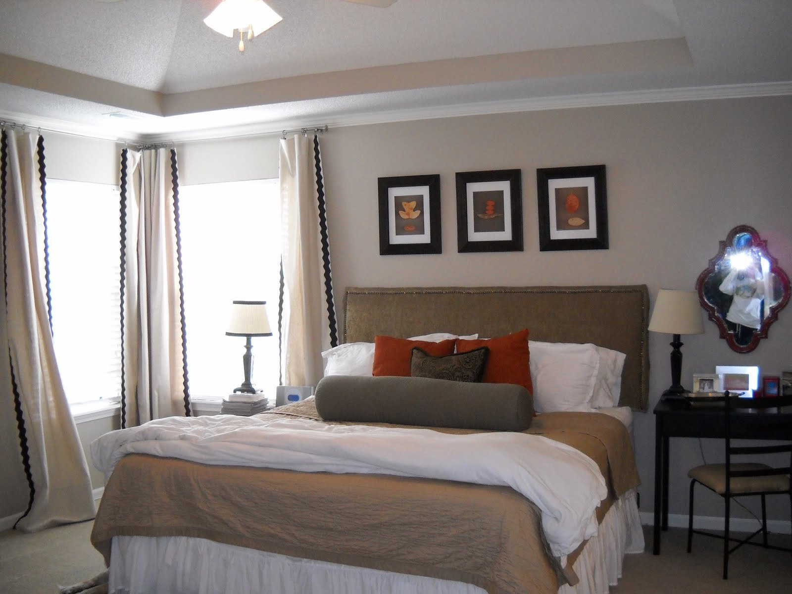 Best Master Bedroom Makeover Suburban Sp*Nk Diy Show Off With Pictures