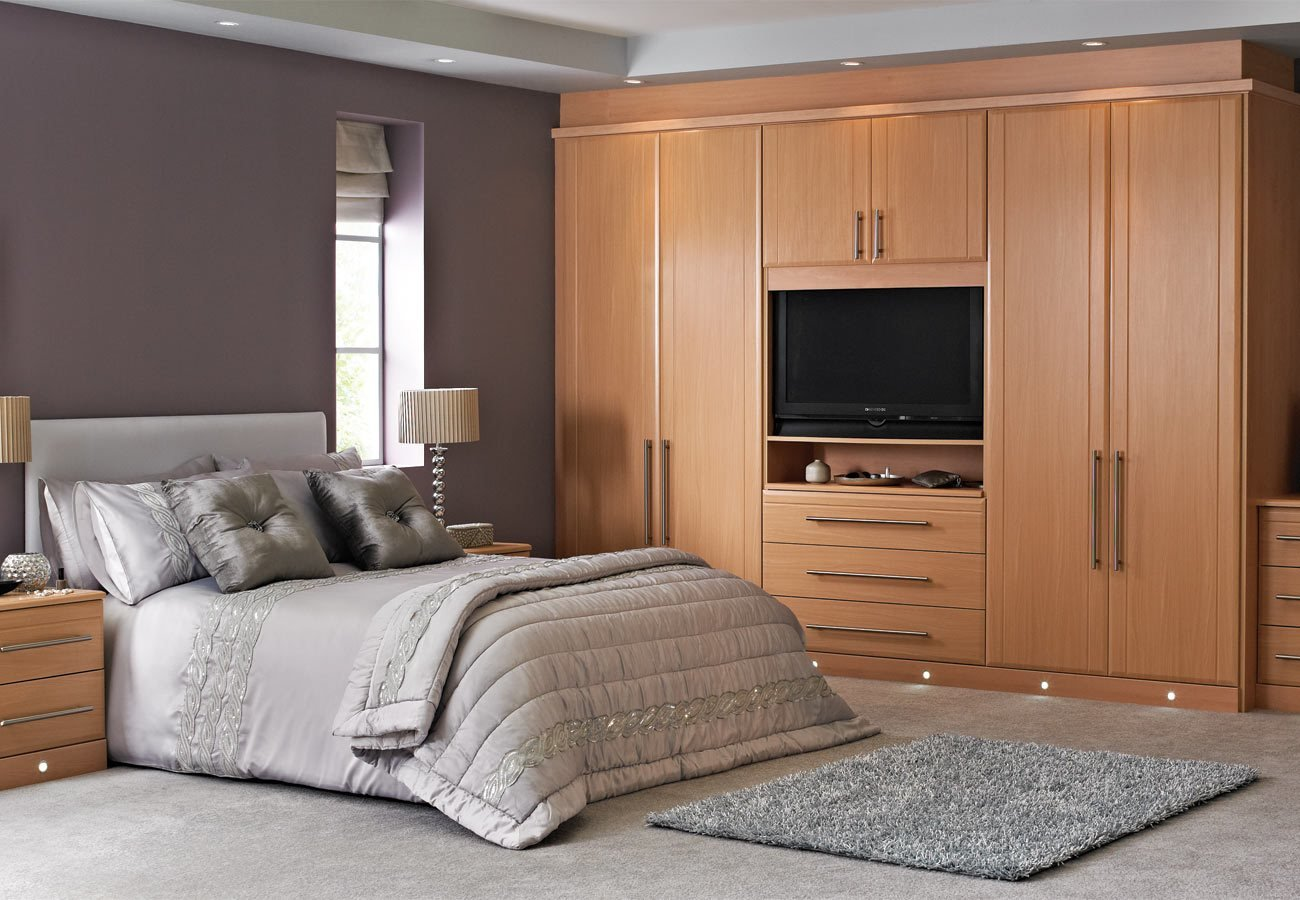 Best Angelo Beech Fitted Bedroom With Pictures