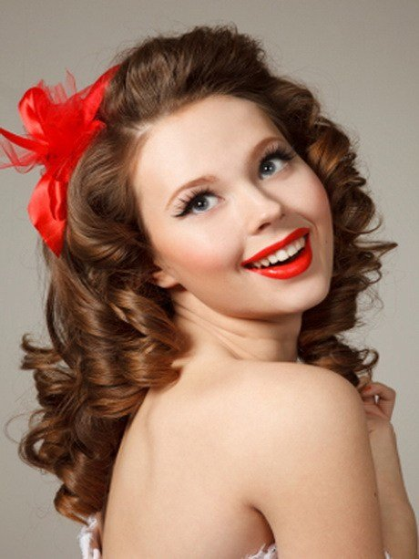 Free 1950S Hairstyles For Long Hair Wallpaper